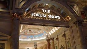O fórum compra em Las Vegas Imagem de Stock