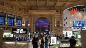 O fórum compra em Las Vegas Foto de Stock