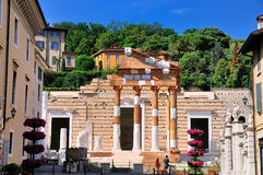 Fórum de Bríxia, Italia. Fotografia de Stock Royalty Free