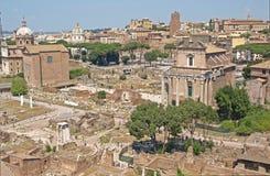 O fórum, Roma Foto de Stock