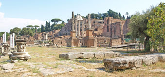 O fórum, Roma Fotos de Stock Royalty Free