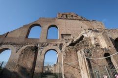 O fórum romano Fotos de Stock Royalty Free