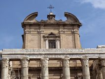 O fórum romano foto de stock