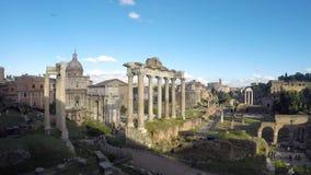 O fórum romano video estoque