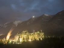 O Fairmont Banff Imagens de Stock Royalty Free