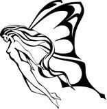 O fairy. ilustração royalty free