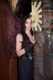 O Fairy está por Porta Imagem de Stock Royalty Free