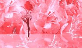 O fairy que dá a vida no selvagem Fotos de Stock Royalty Free