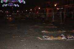 O Falles na cidade de Valência fotos de stock royalty free