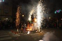 O Falles na cidade de Valência foto de stock royalty free