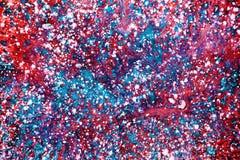 O falso texture pintado pela pintura Fotografia de Stock