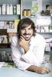 O farmacêutico imagens de stock