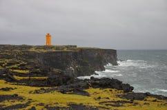 O farol de Islândia Foto de Stock