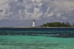 O farol em Nassau Foto de Stock