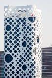 O-14, Fassade, Geschäfts-Bucht, im Stadtzentrum gelegenes Dubai, Dubai, UAE Stockbilder