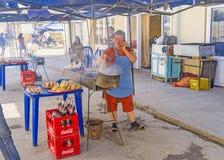 O fast food do Uzbeque Imagens de Stock