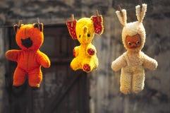 O favorito velho do brinquedo, Fotografia de Stock Royalty Free