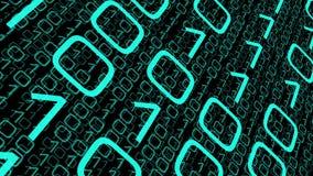 O fazendo download roubado dos dados do computador, transfere a tecnologia grande dos dados ilustração do vetor