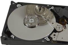 O fechamento seguro fixa o disco duro Fotografia de Stock