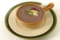 O feijão pode sopa da cenoura Foto de Stock Royalty Free