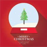 O Feliz Natal ajustou-se Foto de Stock Royalty Free