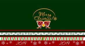 O Feliz Natal projeta, bandeira, colorida, rede, fundo, ilusão, nova, 2019, ilustração, vetor, novo, exclusivo, ilustração do vetor