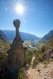 O fenômeno da natureza e o milagre da natureza apedrejam rochas dos cogumelos no Al Fotografia de Stock Royalty Free