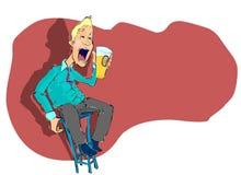 O feno pode mim ter um bit do silêncio!!! Imagens de Stock Royalty Free