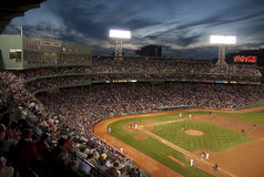 O Fenway Park do basebol, Boston, miliampère EUA Fotos de Stock Royalty Free