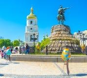 O feriado da Páscoa em Kiev Fotografia de Stock