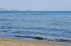 O feriado da praia imagem de stock