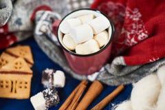 O feriado de inverno atribui a tabela Foto de Stock