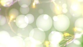 O feriado ilumina o vídeo do fundo