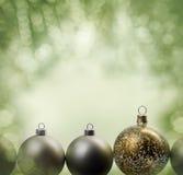 O feriado Ornaments o quadro Imagens de Stock