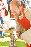 O ferreiro. Fotos de Stock Royalty Free