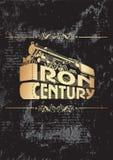 O ferro century_golden Foto de Stock Royalty Free