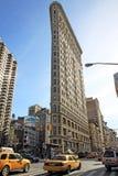 O ferro de passar roupa em New York imagens de stock