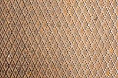 O ferro textures a grade Imagens de Stock