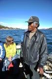 O ferryman imagem de stock
