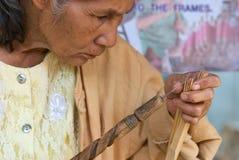 O festival anual do guarda-chuva em Chiang Mai. Fotos de Stock Royalty Free
