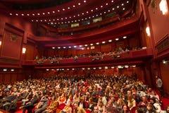 55.o festival de cine internacional de Salónica en el cine de Olympion Fotografía de archivo