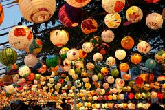 O festival 2018 de lanterna em Taiwan Foto de Stock Royalty Free