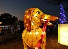O festival 2018 de lanterna em Taiwan Fotografia de Stock Royalty Free