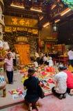 O festival de nove deuses do imperador em Ampang Imagem de Stock