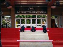 O festival de película internacional de Cannes Foto de Stock Royalty Free