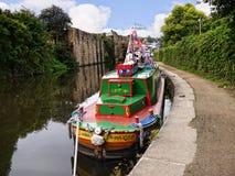 O festival do canal de Leeds Liverpool em Burnley Lancashire Foto de Stock Royalty Free