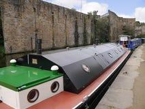 O festival do canal de Leeds Liverpool em Burnley Lancashire Fotografia de Stock Royalty Free