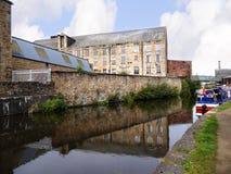 O festival do canal de Leeds Liverpool em Burnley Lancashire Fotografia de Stock