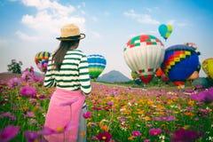 O festival 2017 dos balões Imagens de Stock Royalty Free
