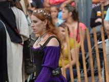 2016 o festival medieval 23 Fotografia de Stock Royalty Free